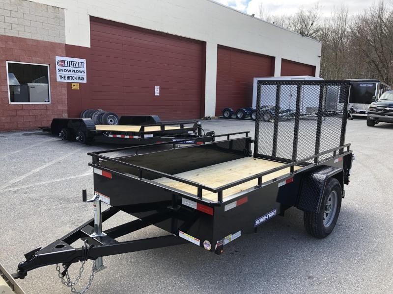 5 x 10 Sure-Trac Steel High Side Trailer  3k