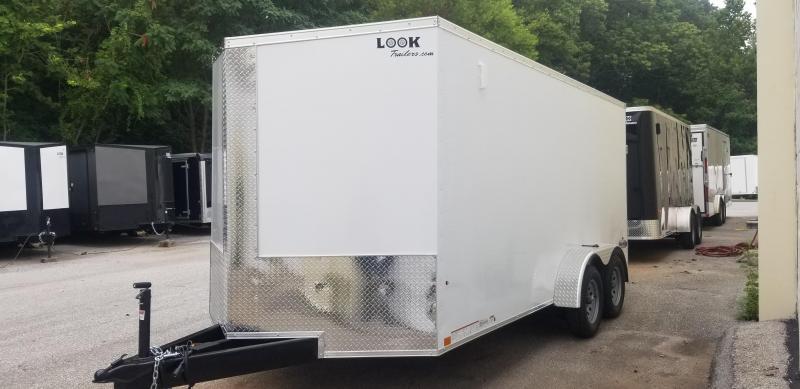 Look  7 x 16 ST DLX Enclosed Cargo Trailer 7k