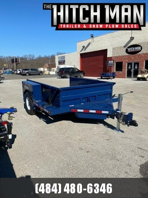 "6'3"" x 10' Air-Tow S10-55 Single Axle Drop Deck Utility 8200k"