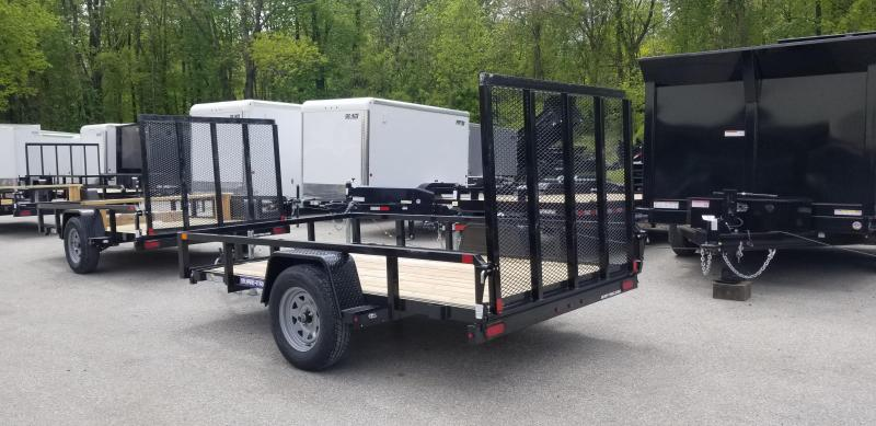 6 x 10 Sure-Trac Tube Top Utility Trailer  3k