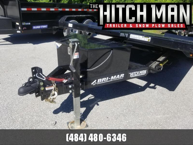 7 x 20 Bri-Mar Hydraulic Tilt Car Hauler Car / Racing Trailer 10k
