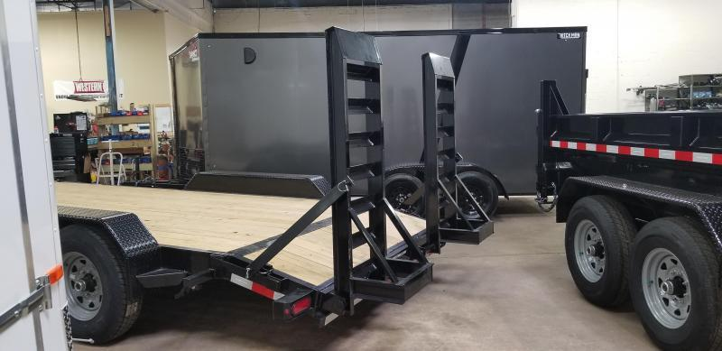 7 x 18 (16+2) Sure-Trac Equipment Trailer  14k