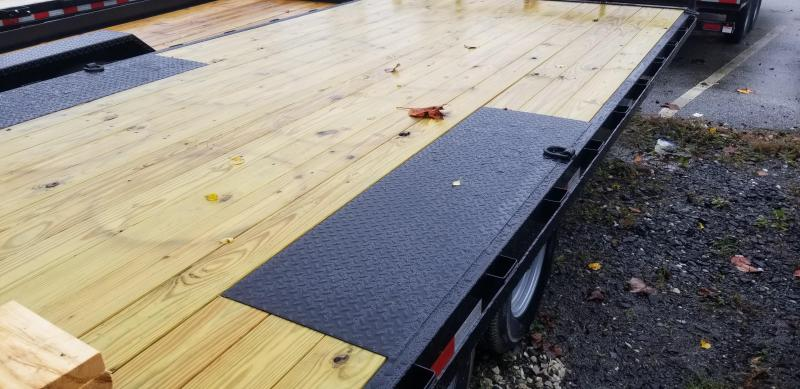 8.5 x 20 Sure-Trac  Low Profile Flat Deck Deckover 10k