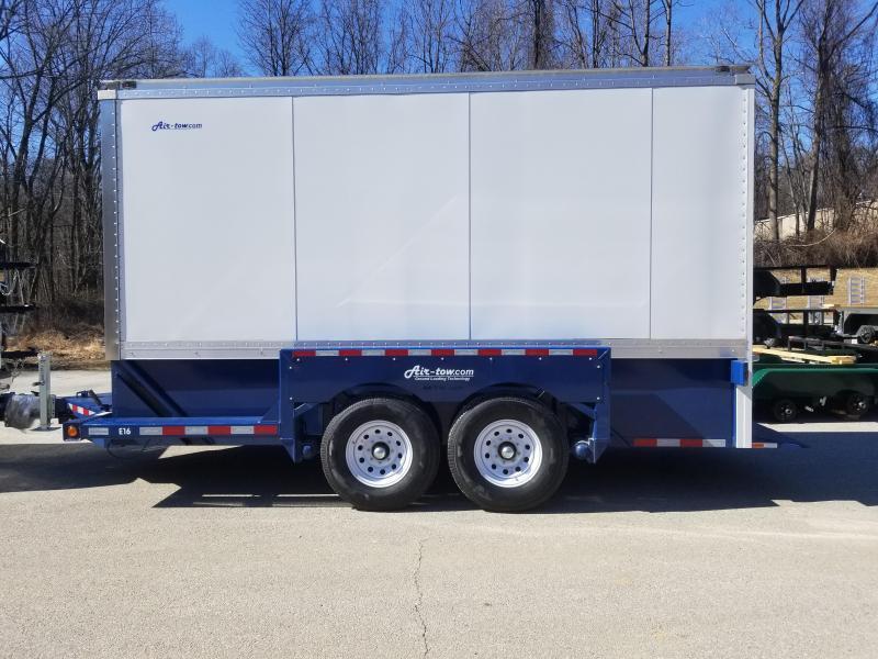 "8.5  x 14'3"" Air-Tow E16 Enclosed Cargo Trailer 14k"