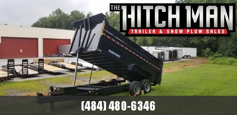 82in x 16 Sure-Trac LProfile Telescopic 4ft High Side Dump  16k