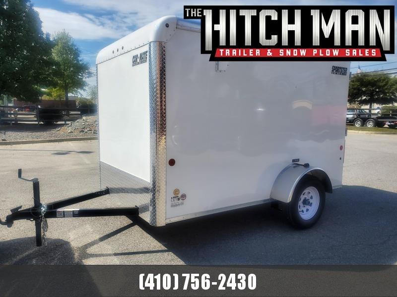 6 x 10 Car-Mate Sportster Enclosed Cargo Trailer 3K