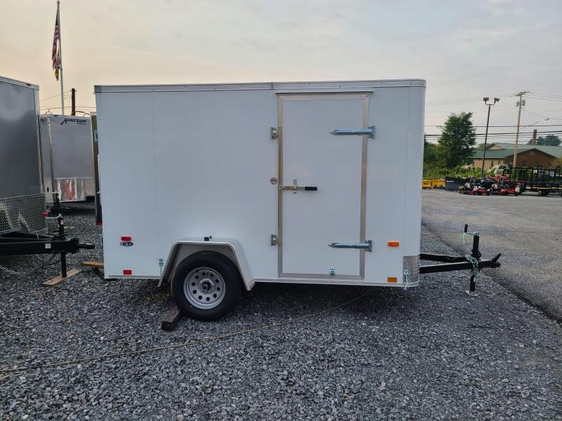 6 x 10 Look ST Cargo 3k ***White w/Barn Doors