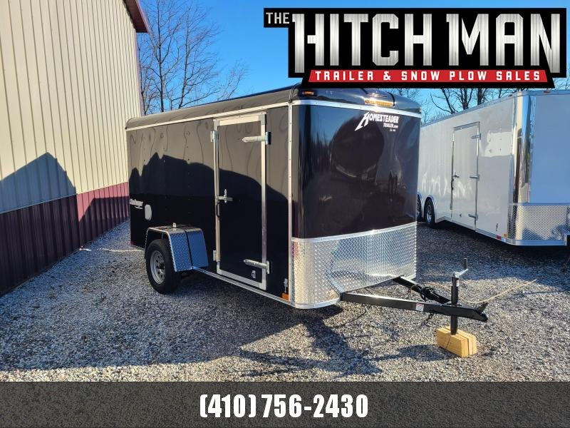 6 X 12 Homesteader Challenger Cargo Trailer 3k *BLACK