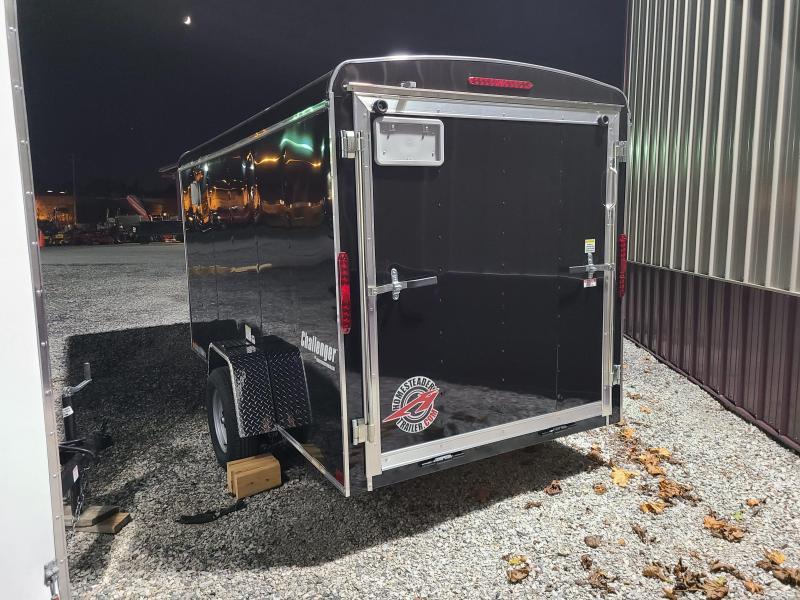 6 X 12 Homesteader Challenger Cargo Trailer 3k *BLACK