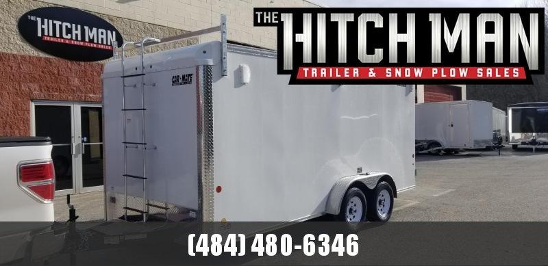 Car-Mate 7 x 14 Contractor Cargo Trailer 7k