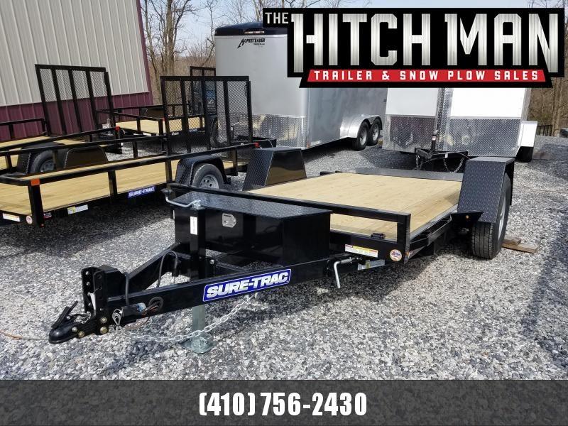 6.5 x 12 Sure-Trac Single-Axle Tilt Bed Equipment 7k