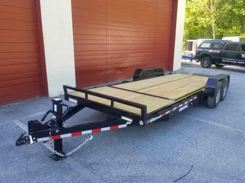 7 x 16+4 Sure-Trac Tilt Bed Equipment Trailer  14k