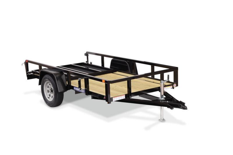 Sure-Trac 5 x 10 Tube Top Utility Trailer  3k Idle