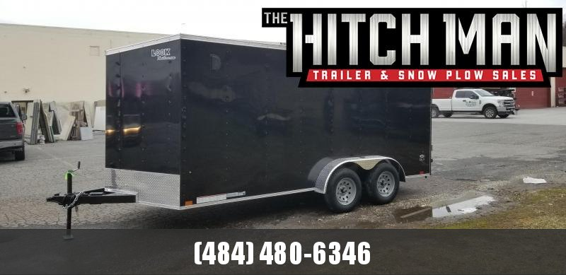 Look Trailers 7 x 16 ST DLX Enclosed Cargo Trailer 7k