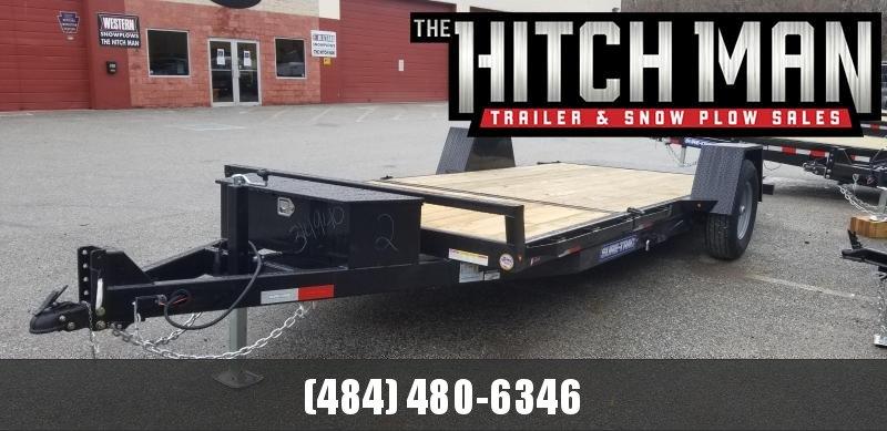 78in x 12+4 Sure-Trac Single Axle Tilt Bed 7.8k