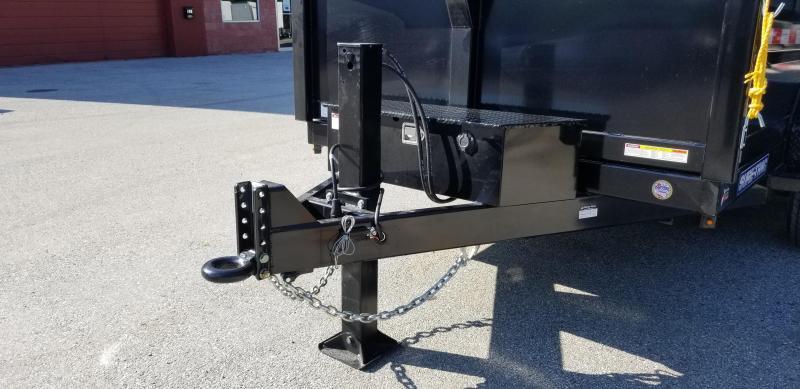 82in x 12 Sure-Trac LProfile  Dual Ram Dump 12k w/Hydraulic Jack