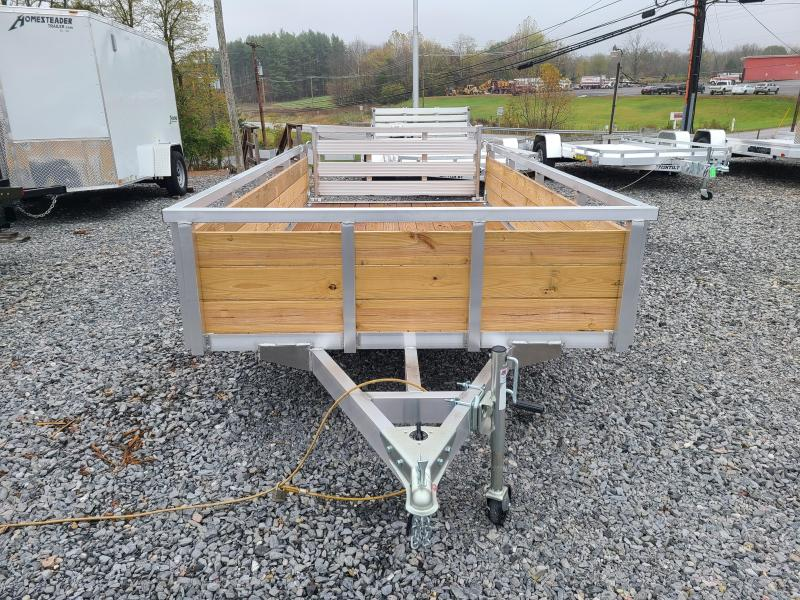 6 x 12 Sure-Trac Aluminum 3-Board High Side Utility Trailer 3K