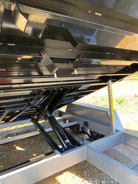 7 x 14 BWISE Scissor Hoist Dump 15.4k
