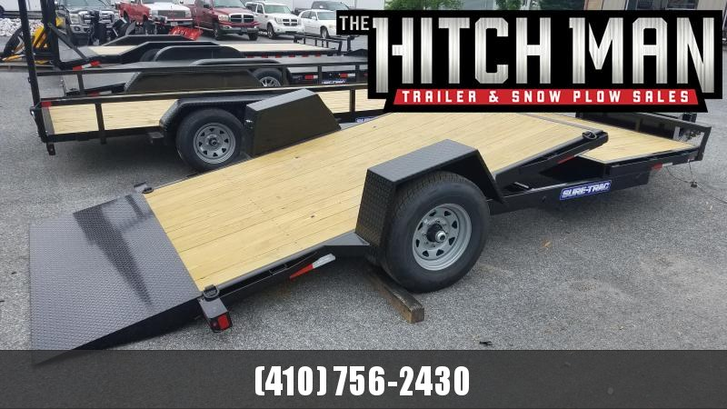 6.5 x 12+4 Sure-Trac 16' Single-Axle Tilt Bed Equipment 7k