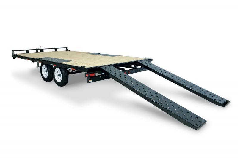 8.5 X 18 Sure-Trac Flat Deck Deckover 10k