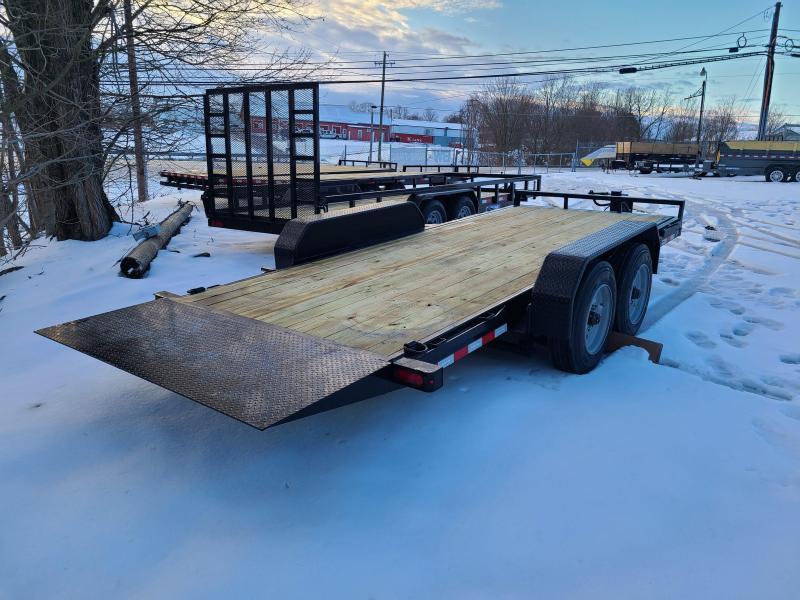 7 x 18 Sure-Trac Tilt Bed Equipment Trailer 16k