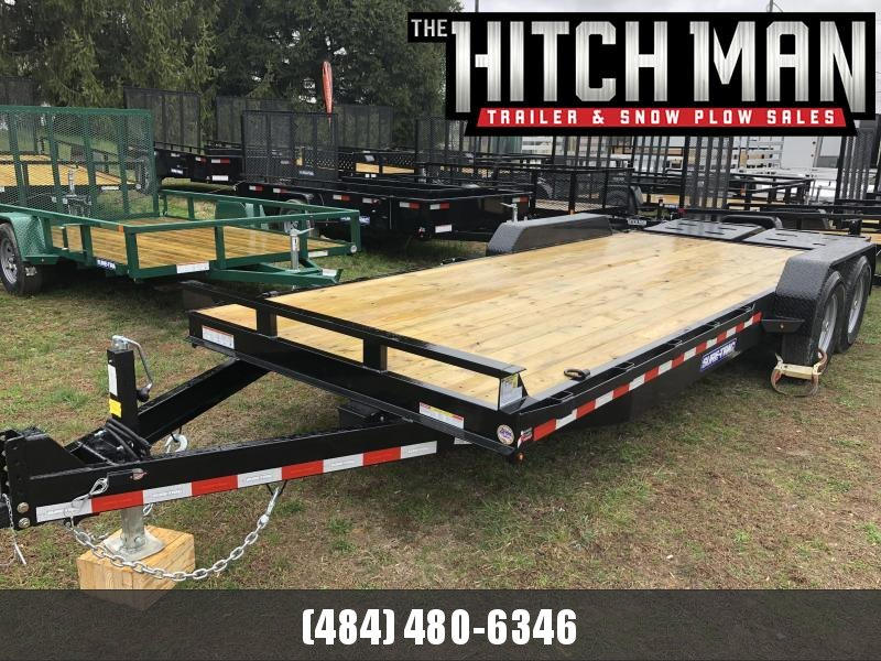 7 x 20 (17+3) Sure-Trac Universal Ramp Equipment 14k
