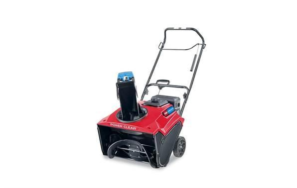 Toro 38753 Power Clear 721E Single Stage Snow Thrower w/Electric Start