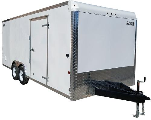 Car Mate 8 5 x 24 Custom Car Hauler Car Racing Trailer 10k