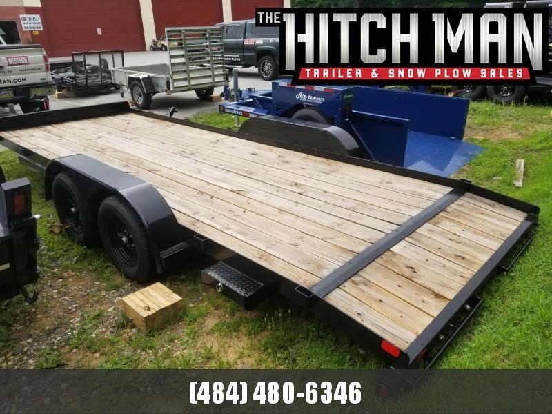 7 x 20 Big Tex  70CH-20 Car / Racing Trailer 7k