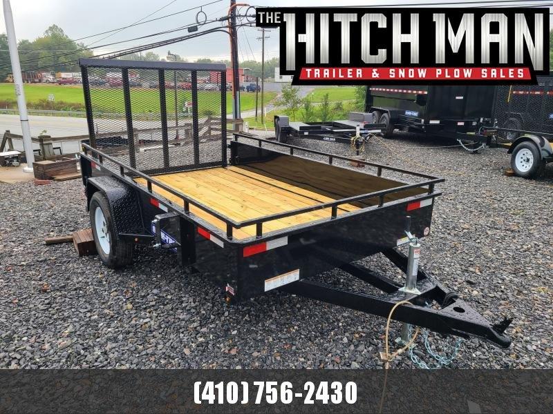 6 x 10 Sure Trac Steel High Side Utility 3k