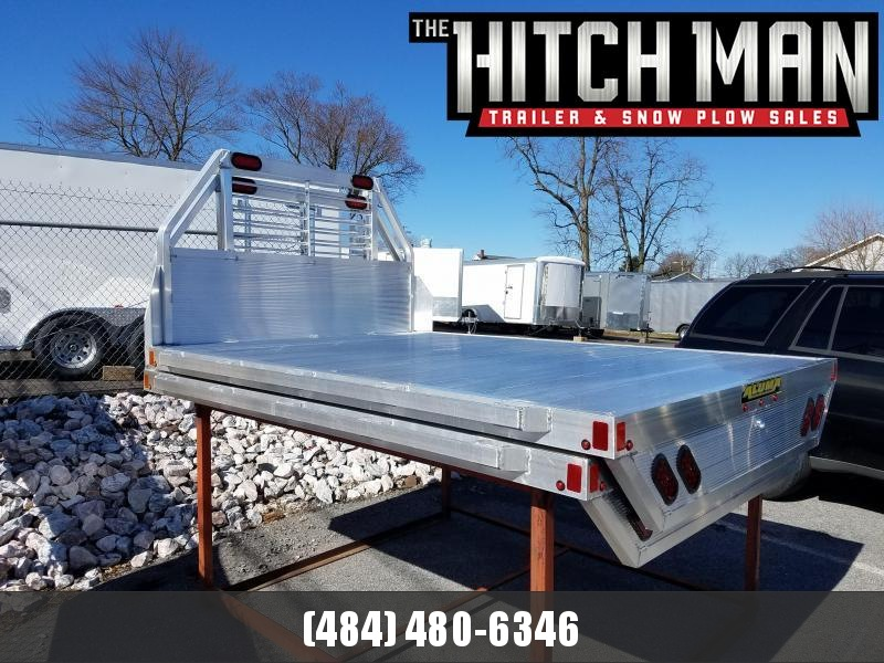 "81"" x 106"" ALUMA Aluminum Truck Bed (8' Bed -Single Rear Wheel)"