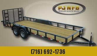 """2021 Quality Trailers 82"""" x 18' (16' + 2' Dove Tail) General Duty Utility Trailer 7K Utility Trailer"""