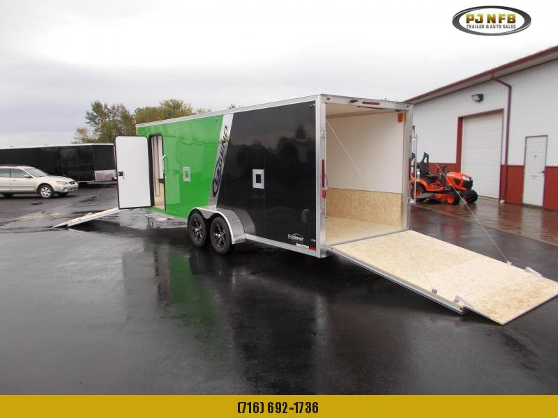 2019 Legend Trailers 7X27ETA35 Snowmobile Trailer