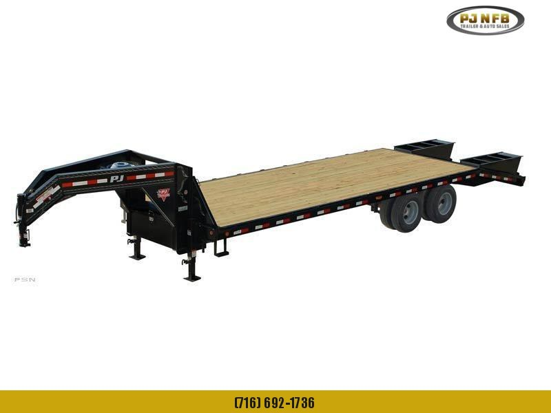 2021 PJ Trailers Classic Flatdeck with Duals (FD) Flatbed Trailer