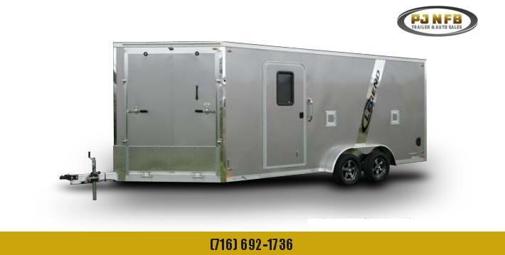 2020 Legend Trailers 7.5X23ETA35 Snowmobile Trailer