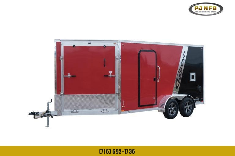 2022 Legend Trailers 7X29ETA35 Snowmobile Trailer