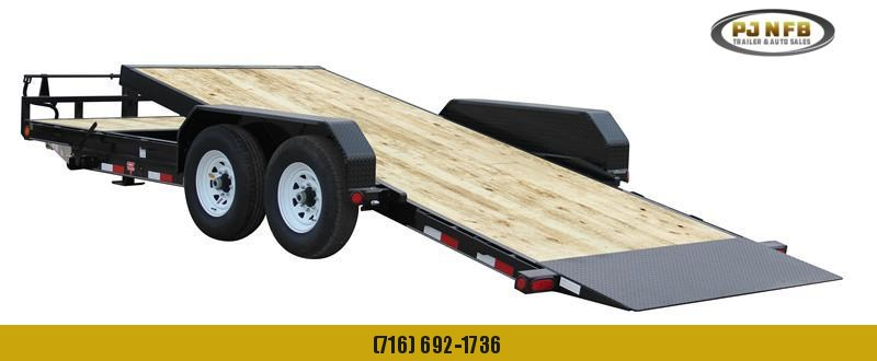 "2021 PJ Trailers 24'x6"" Channel Equipment Tilt Trailer"