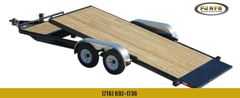 "2021 PJ Trailers 20' x 5"" Channel Tilt Carhauler Trailer"