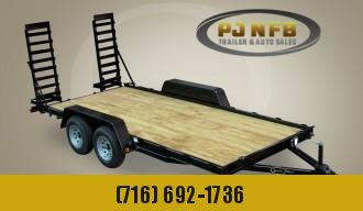 "2021 Quality Trailers 82"" x 16' Tandem Axle Economy Series Equipment 10K Equipment Trailer"