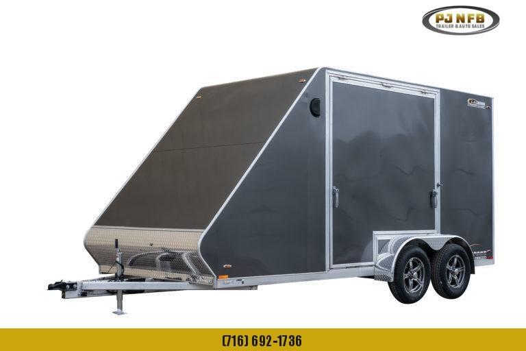 2022 Legend Trailers 717asta35 Snowmobile Trailer
