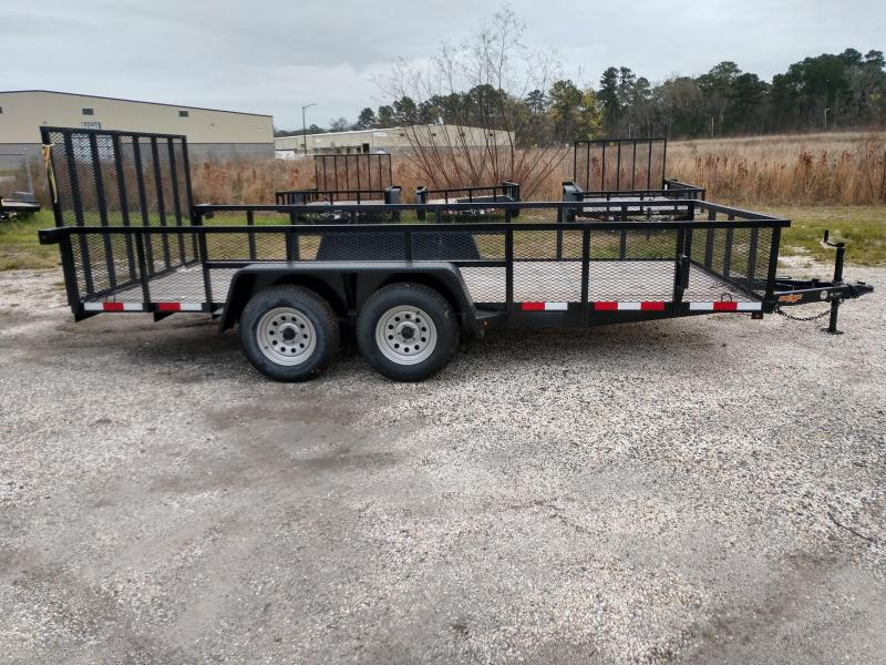 2019 Down 2 Earth Trailers dte8214ut3.5b Utility Trailer
