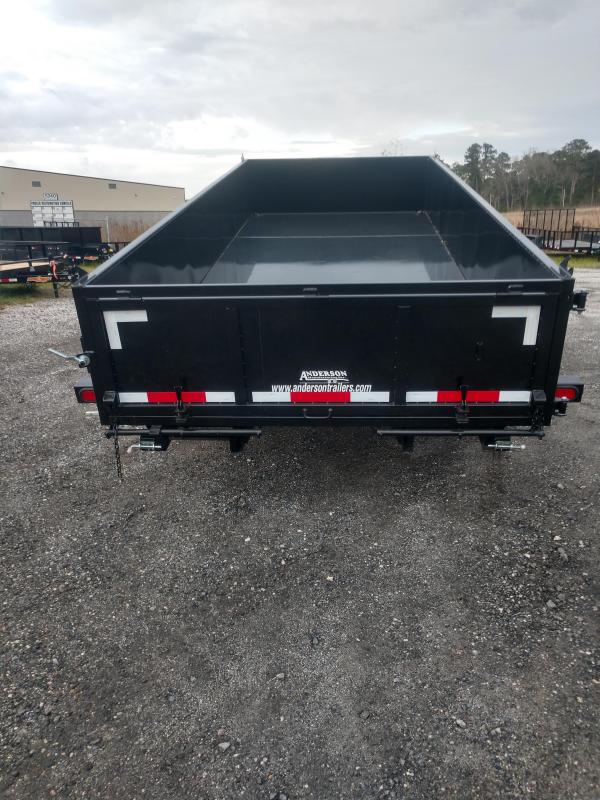 2019 Anderson Manufacturing d7167tlp Dump Trailer