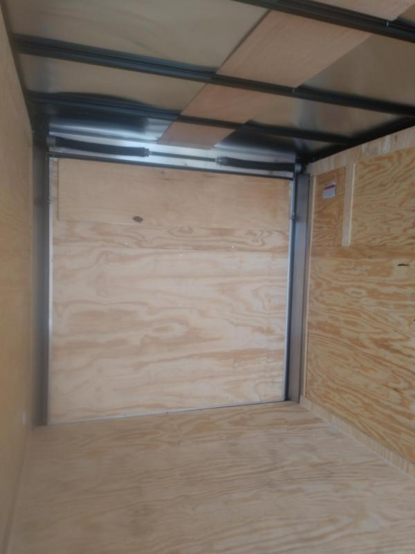 2020 Covered Wagon Trailers 7' Single Axle Enclosed Cargo Trailer