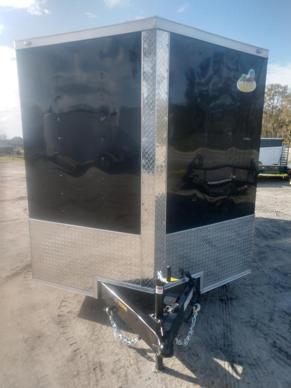 2020 Covered Wagon Trailers Silver Strike 7 x 14 TA Enclosed Cargo Trailer