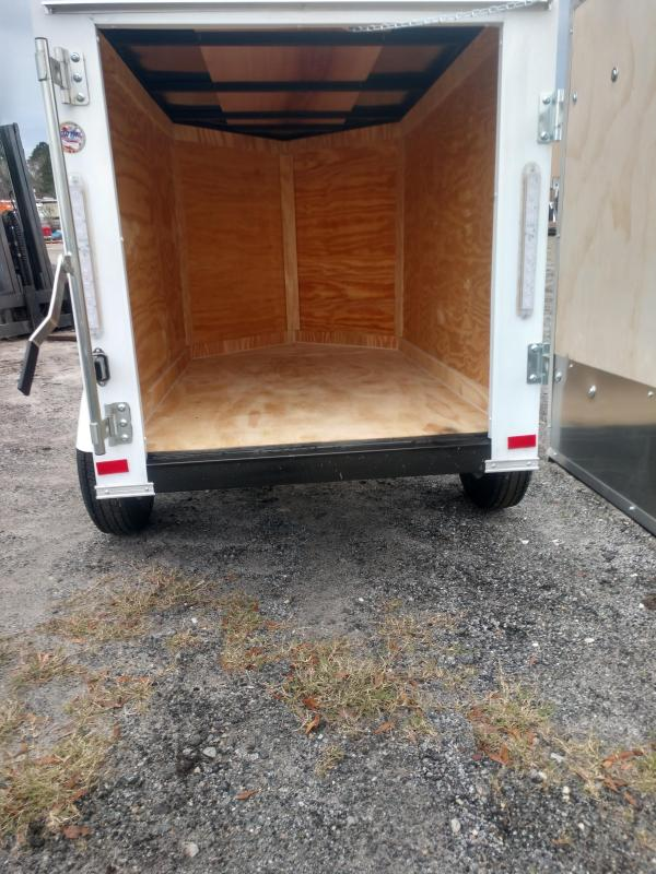 2020 Covered Wagon Trailers cw4x6sa Enclosed Cargo Trailer