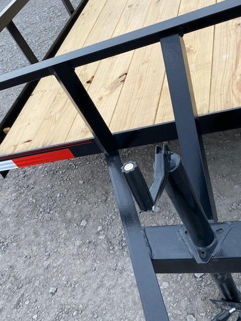 New 2020 Longhorn Trailers 77 X14 Utility Trailer w 2' dave & 3' gate