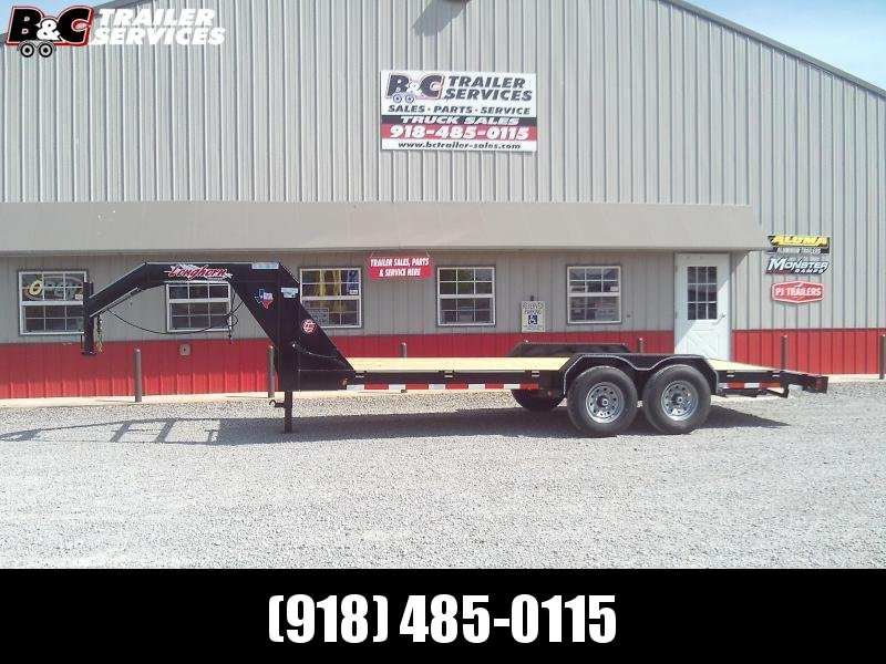 2020 Longhorn Trailers 24X83 CAR HAULER LOWBOY GOOSENECK Car / Racing Trailer