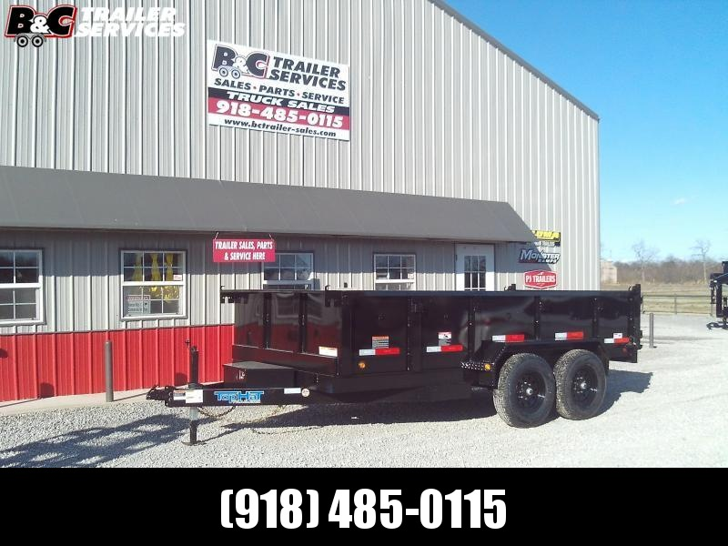 2020 Top Hat Trailers 16'X7' DP 140 DUMP TRAILER Equipment Trailer