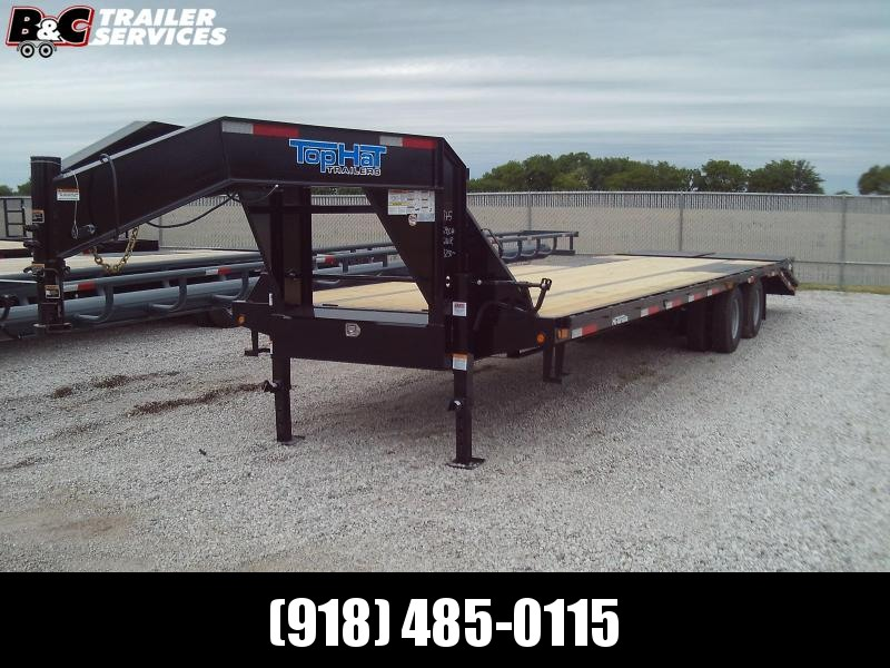 2020 Top Hat Trailers TOP HAT 32' TANDEM DUAL EQUIPMENT TRAILER 25900 GVWR Equipment Trailer