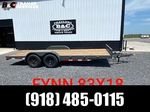 2021 Other NEW FYNN 18' FLAT DECK CAR \ EQUIPMENT TRAILER Equipment Trailer